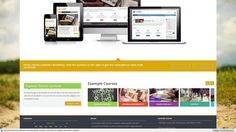 Lambda - Responsive Moodle Theme Cool Themes, Website Template, Explore, Design, Exploring