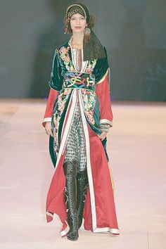 Morrocan caftan...must have these boots