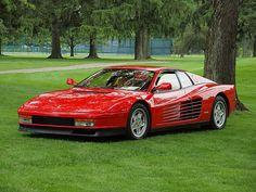 Ferrari Testarossa This Model by #Ferrari Will Never be Forgotten... www.alfamenswear.co.uk
