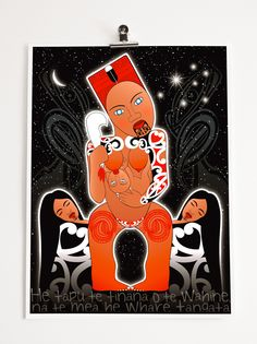 B.WAIPUKAart | Collaboration | Robyn Kahukiwa | Maori | Maori Artist | New Zealand Art | Buy Prints | Maori Art | Maori Woman Artist | Maori Female | Wahine | Maori Legend