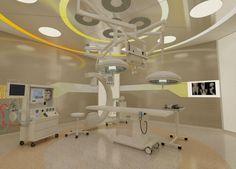 Ameliyathane Medical Design, Healthcare Design, Health Care Hospital, Healthcare Architecture, Room Interior, Interior Design, Private Hospitals, Hospital Design, Emergency Department