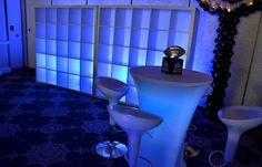 On Trend: Cubbies & Lockers - LED Cubbies for Bar & Bat Mitzvah Party from Interacitve Entertainment Group - mazelmoments.com