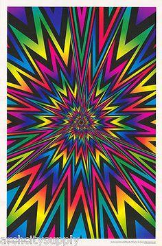 Art Optical, Optical Illusions, Fractal Art, Fractals, Black Light Posters, Rainbow Wallpaper, Mandala Coloring, Hanging Signs, Psychedelic Art