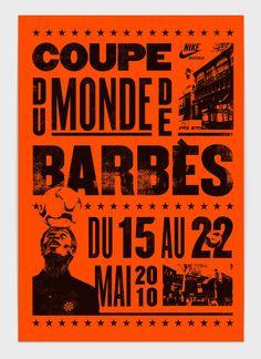 Coupe du Monde de Barbès on Behance