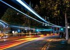 Long exposure submitted to Reddit by . My first exposure porn post--Dublin traffic trails--taken by myself in 2008 [500 x 357]