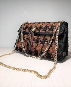 Handmade unique Crochet Bag #handmade #handmadebag #crochetbag #handmadeingreece Women's Handbags, Handmade Bags, Crochet, Handmade Handbags, Ganchillo, Crocheting, Knits, Chrochet, Homemade Bags