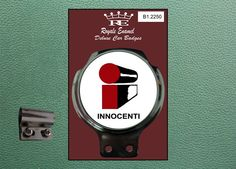 Royale Classic Car Badge & Bar Clip INNOCENTI i Mini Mod B1.2250