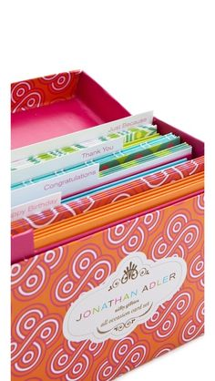 Jonathan Adler cards for all occasions! Box set available @ Rock Paper Scissors Ann Arbor. www.rockpaperscissorsshop.com.