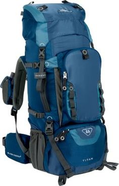 NEW! High Sierra Titan 55 Internal Frame Backpack (also available here: http://www.basspro.com/High-Sierra-Explorer-55-Backpack/product/14110705471315/)