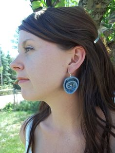 Denim Earrings!
