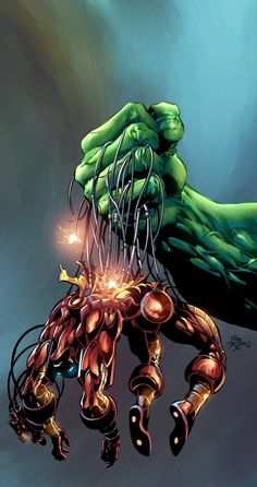 Iron Man v.s Hulk