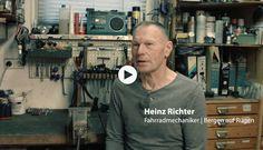Heinz Richter war nicht nur schnell auf vier Rädern – als langjähriger Rettungsassistent und Notarztfahrer beim DRK auf Rügen. Er war auch schnell auf seinem Rennrad. In der 4000-Meter-Mannschaftsverfolgung gewann er 1972 die Silbermedaille bei den Olympischen Spielen in München. Film von pocha.de