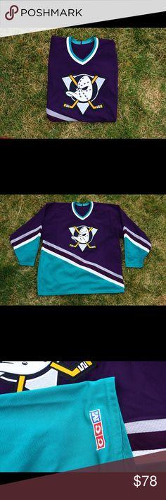 3f00a3d08 Mighty Ducks Hockey Jersey Mighty Duck Hockey Jersey