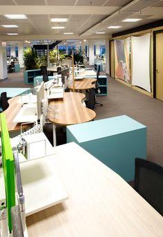 Hospira's New Open Plan Melbourne Office