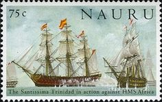 WNS: NR003.05 (Battle of Trafalgar Part 1 - The Santissima Trinidad in action against HMS Africa)