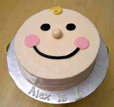 Simple smash cake