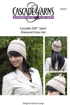 4046ab66b79 Diamond Cross Hat in Cascade 220 Sport - DK252 Free