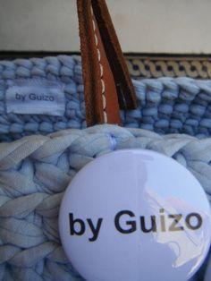 https://flic.kr/p/tXMM4E | by me l byGuizo (facebook) | hand-made baskets - ice cream color collection  cotton l leather  in blueberry...  MUST HAVE