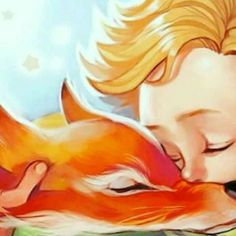 Little Prince Quotes, Little Prince Fox, Baby Prince, Fox Art, Watercolor Animals, Belle Photo, Cute Wallpapers, Geeks, Fairy Tales
