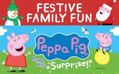 Peppa Pigs Surprise theatre tickets - Phoenix Surprise! Everyone™s favourite piglet returns to the West End this Christmas with a charming and colourful new production: Peppa Pig™s Surprise. Peppa Pig™s Surprisefollows the Pig family as they emb http://www.comparestoreprices.co.uk/january-2017-3/peppa-pigs-surprise-theatre-tickets--phoenix.asp