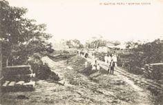 Morona Cocha. Se aprecian vías de ferrocarril. Iquitos [fotografía]