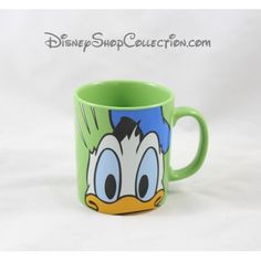 Mug Donald DISNEYLAND PARIS vert tasse en céramique 10 cm