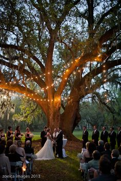 Southern documentary wedding photography, destrehan plantation wedding ceremony. evening wedding