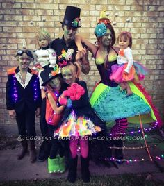 Coolest Family Costume Tales of a Steampunk Alien Invasion... Coolest Halloween Costume Contest