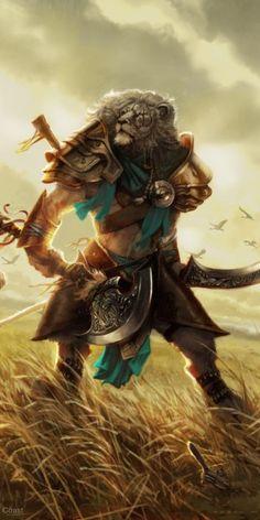 Ajani, Mentor of Heroes.