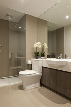 beautiful modern bathroom neutral interesting countertop toilet idea pmf like the sinks easy to clearn