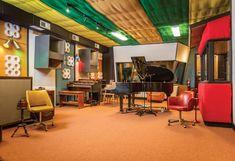 Nearby audio/video integrator Mozaic AV and Leon Speakers team up to renovate the legendary Muscle Shoals Sound Studio. Leon Speakers, Whole Home Audio, Muscle Shoals, Rock Sound, Sound Studio, Concrete Building, Flat Panel Tv, Shag Carpet, Home Studio