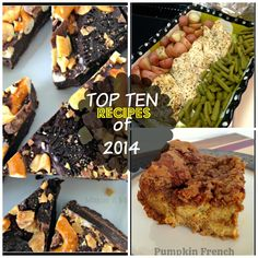Top Ten Recipes from 2014