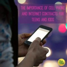 The Importance of Cell Phone and Internet Contracts for Kids