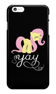 """""""Fluttershy - yay"""" iPhone Cases by Dennis Brony Fluttershy 