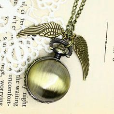Fit-to-Kill Little Wings Pocket Watch - Copper from yesstyle