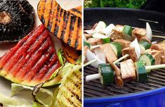 Grilling ideas for vegetarians - or people who like tastier veggies like me!