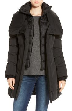 Soia & Kyo Water Resistant Hooded Down Walking Coat available at #Nordstrom