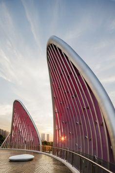 The Lotus Building and People's Park by studio505 / Wujin, Changzhou, Jiangsu, China