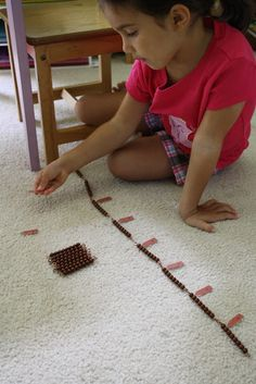 Bear does skip counting every week at Classical Conversations. They sing songs to memorize this. They skip count all the way to the and then learn the squares and cubes. I decided to … Preschool Education, Preschool Math, Teaching Activities, Educational Activities, Maths, Number Sense Kindergarten, Kindergarten Math, Montessori Homeschool, Homeschooling