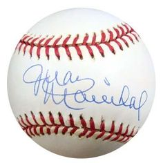 Juan Marichal Autographed NL Baseball PSA/DNA #M55818 . $59.00. This is an Official National League baseball that has been hand signed by Juan Marichal. This autograph is certified authentic by PSA/DNA and comes with their sticker and matching certificate of authenticity.