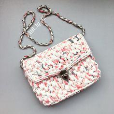 Пестрая сумочка trapillo crochet bag