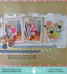 Pamela Young for Fancy Pants - Collecting Moments BUTTONS  Get Fancy Pants at www.craftysteals.com