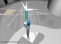 vizualizacija BG stub Mrdjan Bajic-c. Ceiling Fan, 3d, Home Decor, Homemade Home Decor, Ceiling Fans, Ceiling Fan Pulls, Decoration Home, Interior Decorating