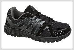 GIBRA® Sportschuhe, sehr leicht und bequem, schwarz, Gr. 36 - Sneakers für frauen (*Partner-Link)