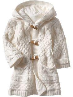 Chalecos de lana para niña - Imagui