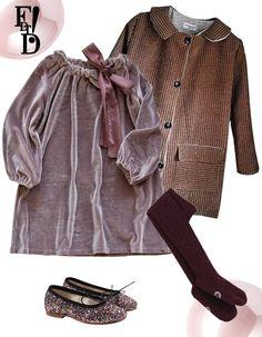 velvet, coats, tights, dress, glitter ballet flats