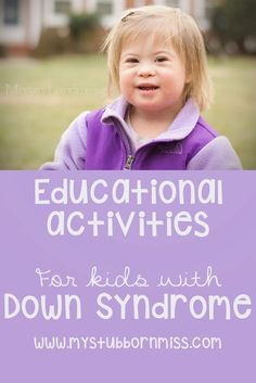 My Stubborn Little Miss: At Home Learning Activities for Kids with Down Syndrome. (scroll to end for free download of predictable text book)