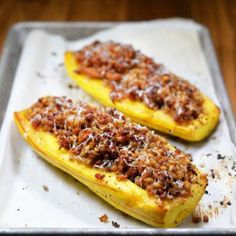 Roasted Delicata Squash with Sausage
