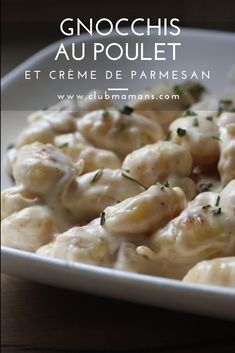 Gnocchi Recipes, Cheese Recipes, Potato Salad, Macaroni And Cheese, Food And Drink, Healthy Recipes, Meat, Chicken, Cooking