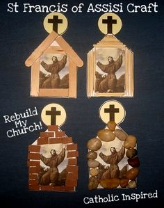 St. Francis of Assisi Craft {Plus, a few thoughts on our new Pope} | Catholic Inspired ~ Arts, Crafts, and Activities!